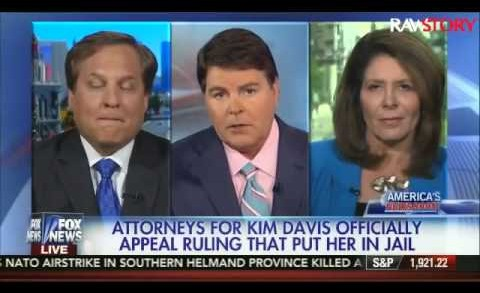 Fox News panel on Kim Davis' lawyer: He's 'ridiculously stupid'
