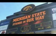 Iowa Hawkeye Tyler Sash does it again in 2010 against Michigan State