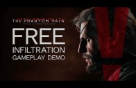 Metal Gear Solid V – Freedom of Infiltration Gameplay Demo (English Language)