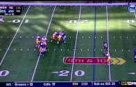 RG3 4th down and 10 play vs. Giants – 10/21/12