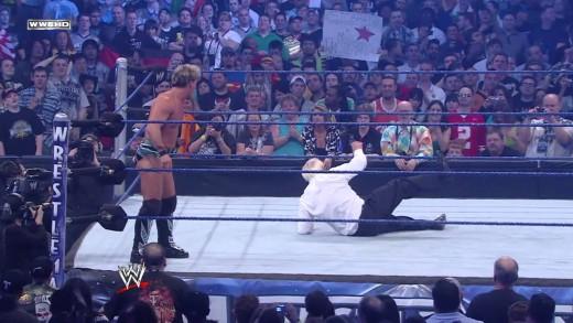 Roddy Piper, Jimmy Snuka & Ricky Steamboat vs. Chris Jericho: WrestleMania 25