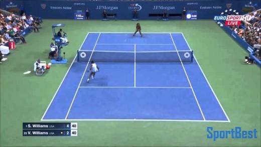 Serena Williams vs Venus Williams  –  Highlights || US OPEN 2015