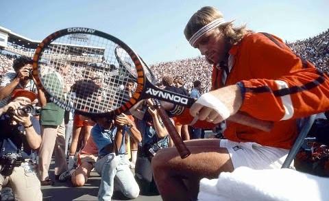 Tennis Björn Borg vs Jimmy Connors  US Open Semi final 1981