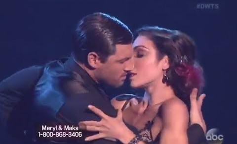 "THE BEST DWTS 18 WEEK 6 ""Feel So Close"" by Calvin Harris : Meryl Davis and Maks – Tango (HD)"