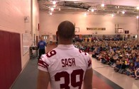 Tyler Sash Surprise Elementary Assembly