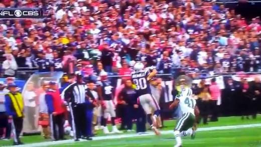 Amazing Catch by Amendola – New England Patriots vs New York Jets