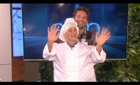 Bradley Cooper Helps Ellen DeGeneres In Goofiest Cooking Demo Ever