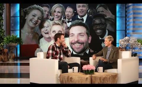 Bradley Cooper on the Legendary Oscar Selfie