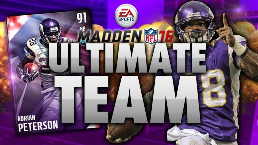 EPIC Adrian Peterson Debut! Madden 16 Ultimate Team Ep. 1 – MUT 16