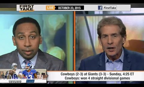 ESPN First Take – Dallas Cowboys vs Giants : Better Team ?