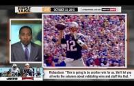 ESPN First Take – Patriots vs Jets : Tom Brady or Sheldon Richardson ?