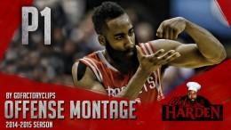 James Harden Offense Highlights Montage 2014/2015 (Part 1) – King of Stepback