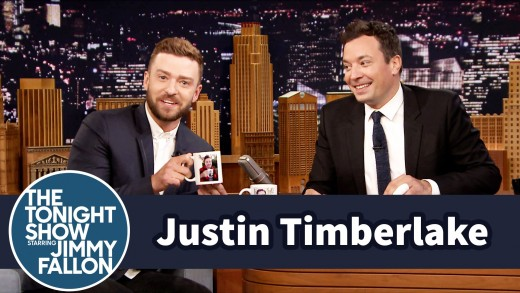 Justin Timberlake Gets Incepted by a Jimmy Fallon Mug