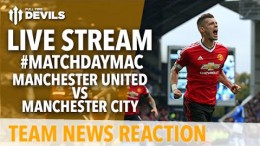 Manchester United vs Manchester City LIVE: Adam McKola and Andy Tate with Team News