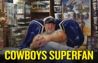 Meet the Dallas superfan whose entire home is Cowboys-themed (even the toilet)