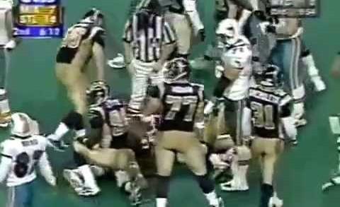 Miami Dolphins vs St Louis Rams 9/30/01
