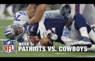 New England Patriots vs Dallas Cowboys  – Full Game – NFL 2015 || Week 5 Regular Season
