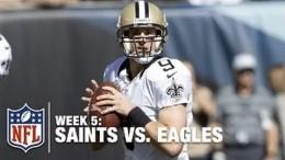 New Orleans Saints vs. Philadelphia Eagles  – Full Game – NFL 2015    Week 5 Regular Season