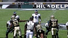 New Orleans Saints vs Philadelphia Eagles 2009 1st Half