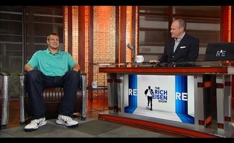 """Patriots TE Rob Gronkowski Discusses New Book """"Good to be Gronk"""" in Studio – 7/15/15"""