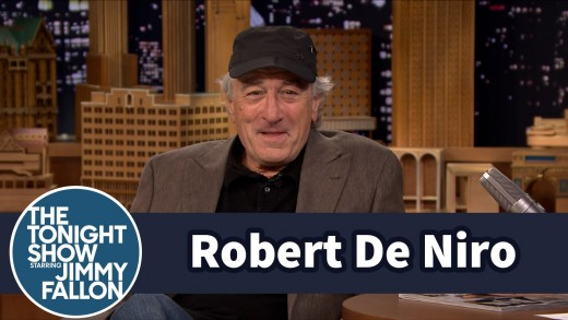 Robert De Niro Shows Off His Jimmy Fallon Impression