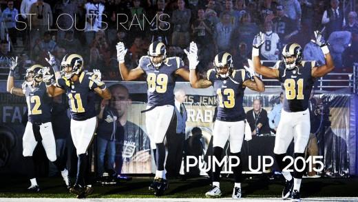 St. Louis Rams – Pump UP 2015 á´´á´°