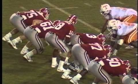 1988 #12 Georgia Bulldogs vs #18 Tennessee Volunteers – Larry Munson call and comments
