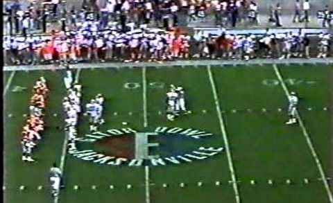 1988 #19 Georgia Bulldogs vs. Florida Gators