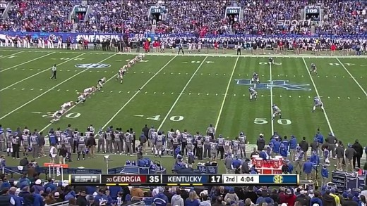 2014-11-08 Georgia Bulldogs vs Kentucky Wildcats