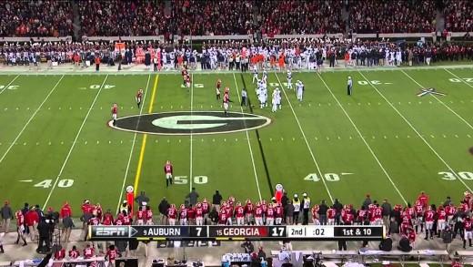 2014-11-15 Auburn Tigers vs Georgia Bulldogs