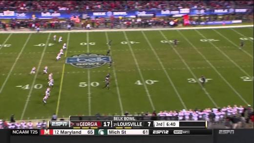 2014 Belk Bowl: #13 Georgia Bulldogs vs #21 Louisville Cardinals Full Game cfedit UGA UL