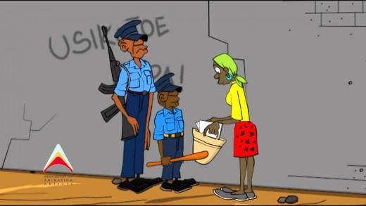 A3 Kenya Animation Challenge (BUSTED!) Special Mention – Alex Kirui (Kenya)