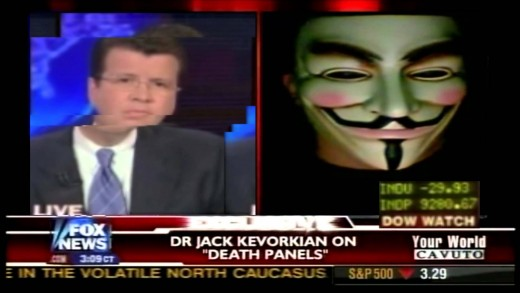 Anonymous Hacks Fox News Live on Air – 2015