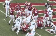 Auburn Football at Arkansas Highlights