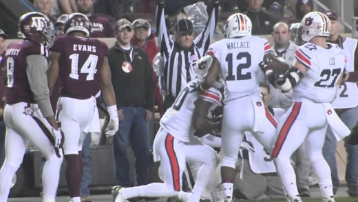 Auburn Football at Texas A&M Highlights