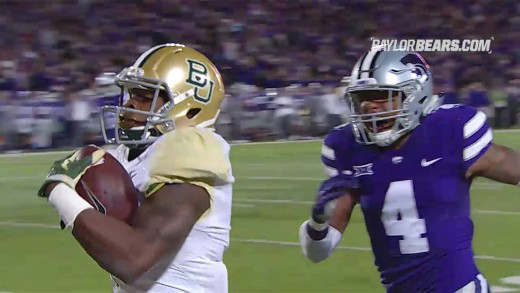 Baylor Football: Highlights vs. Kansas State