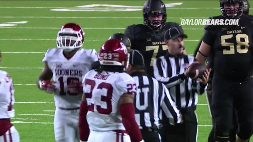 Baylor Football: Highlights vs. Oklahoma