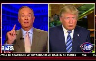 Bill O'Reilly Donald Trump FULL Interview. Trump ENDS Fox News Boycott