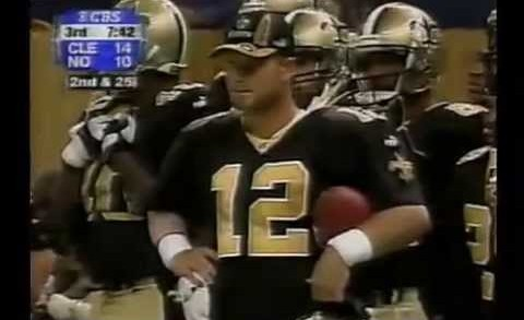 Cleveland Browns vs New Orleans Saints 10/31/99