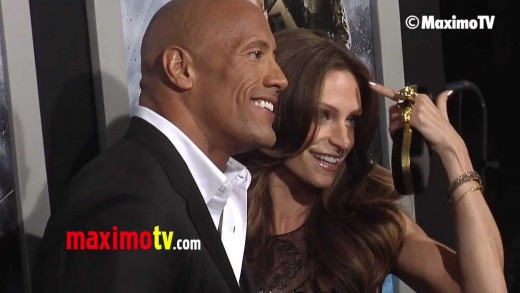 "Dwayne Johnson and Lauren Hashian ""G.I. Joe Retaliation"" Los Angeles Premiere"