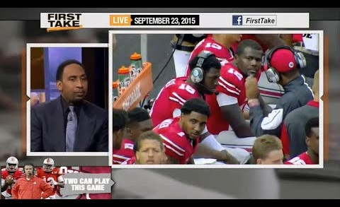 ESPN First Take – Cardale Jones or JT Barrett for Buckeyes QB ?