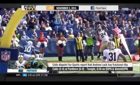 ESPN First Take – Carolina Panthers vs Indianapolis Colts: Who wins?