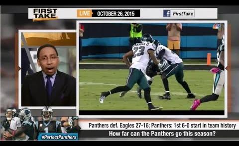 ESPN First Take – How Far Can Cam Newton Take Carolina Panthers ?