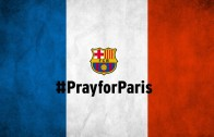 FC Barcelona #pray for Paris