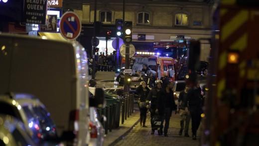 French police report shooting, explosions in Paris