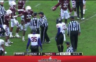 Highlights from Temple vs East Carolina Football November 1, 2014