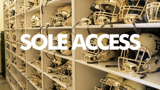 Inside Baylor University's Football Locker Room // Sole Access