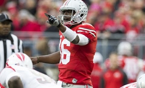 J.T. Barrett Freshman Highlights 2014 Ohio State