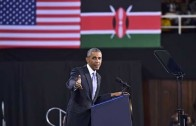 Obama in Kenya: President Barack Obama's speech at Kasarani – full