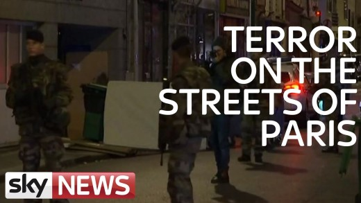 Terror On The Streets Of Paris